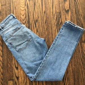 2/30: ASOS high rise distressed jeans